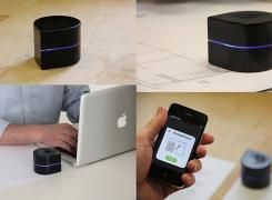 Mobil dünyaya ayak uyduran yazıcı modeli Mini Mobile Robotic Printer, Kickstarter'da destek arıyor