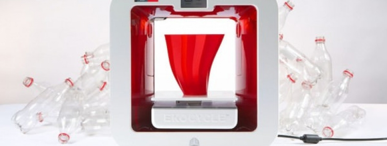 Coca Cola geri dönüştürülmüş malzeme kullanan bir 3D yazıcı geliştirdi